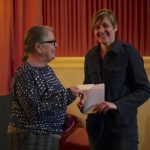 Presentation of film DVDs to DFDS Seaways